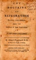 The doctrine of reprobation briefly considered :
