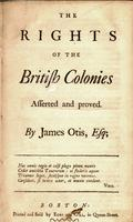 The rights of the British colonies asserted and proved