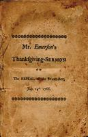 A thanksgiving-sermon preach'd at Pepperrell, July 24th. 1766 :