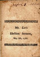 A sermon, delivered before the General Assembly of the colony of Connecticut ;