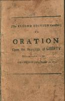 An oration, upon the beauties of liberty : or the essential rights of the Americans.