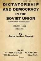Dictatorship and democracy in the Soviet Union