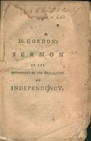 The separation of the Jewish tribes, after the death of Solomon, accounted for, and applied to the present day, in a sermon preached before the General Court, on Friday, July the 4th, 1777. Being the anniversary of the Declaration of Independency.