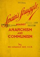 Spain's struggle against anarchism and communism
