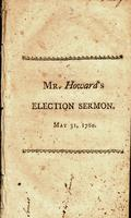 A sermon preached before the honorable Council, and the honorable House of representatives of the state of Massachusetts-Bay, in New-England, May 31, 1780. Being the anniversary for the election of the honorable Council.