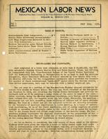 Mexican Labor News - July 10, 1936  v. 1, no. 2