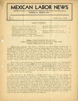 Mexican Labor News - August 10, 1936  v. 1, no. 5