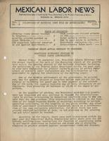 Mexican Labor News - September 10, 1936  v. 1, no. 8