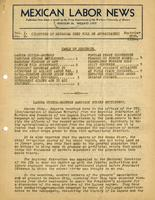 Mexican Labor News - September 20, 1936  v. 1, no. 9