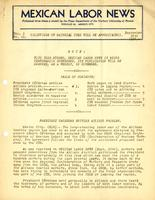 Mexican Labor News - September 30, 1936  v. 1, no. 10
