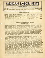 Mexican Labor News - December 9, 1936  v. 1, no. 14