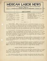 Mexican Labor News - December 30, 1936  v. 1, no. 17