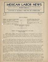 Mexican Labor News - May 26, 1937  to June 2, 1937  v. 2, nos. 38 and 39