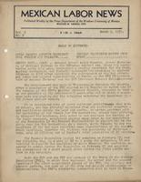 Mexican Labor News - March 1, 1939  v. 6, no. 9