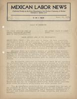 Mexican Labor News - March 23, 1939  v. 6, no. 12