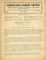 Mexican Labor News - June 8, 1939  v. 6, no. 23