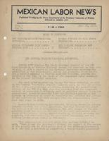 Mexican Labor News - July 20, 1939  v. 7, no. 3