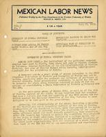 Mexican Labor News - July 27, 1939  v. 7, no. 4
