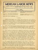 Mexican Labor News - October 5, 1939  v. 7, no. 14