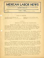 Mexican Labor News - December 7, 1939  v. 7, no. 33
