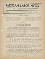 Mexican Labor News - June 20, 1941  v. 8, no. 69