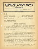 Mexican Labor News - June 26, 1941  v. 8, no. 70