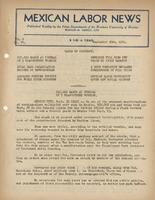 Mexican Labor News - September 30, 1941  v. 8, no. 84