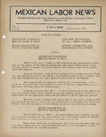 Mexican Labor News - October 7, 1941  v. 8, no. 85