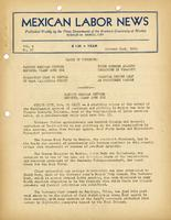 Mexican Labor News - October 21, 1941  v. 8, no. 87