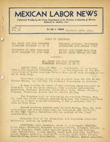 Mexican Labor News - November 18, 1941  v. 8, no. 90