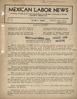 Mexican Labor News - December 16, 1941  v. 8, no. 33
