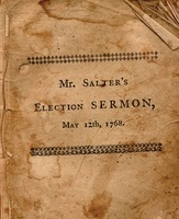 A sermon, preached before the General Assembly of the colony of Connecticut :