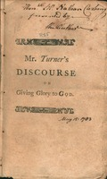 Due glory to be given to God. : a discourse containing two sermons preached in Cambridge May 15, 1783. Being a day appointed by government for publick fasting and prayer.