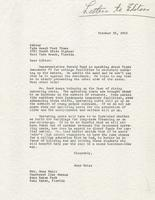 Weiss Form Letters, 1963
