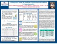 Crystallographic studies of lanthanide coordination polymers based on 3,4-furandicarboxylate