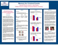 Memory for criminal events