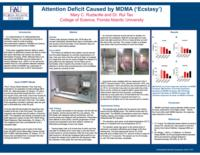 Attention deficit caused by MDMA ('ecstasy')