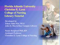 Christine E. Lynn College of Nursing library tutorial