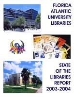 Florida Atlantic University libraries 2003-2004