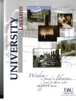 University libraries fact sheet publication