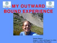 My outward bound experience