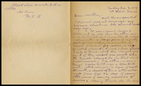 Letter to Mrs. A. M. Kemery, December 8, 1918