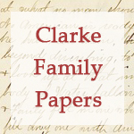 Clarke Family Papers