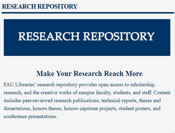 FAU Research Repository