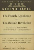 The French Revolution versus the Russian Revolution.