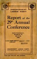 Report of the 29th annual conference.