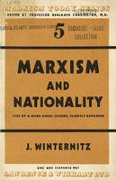 Marxism and nationality.