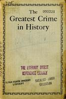 The greatest crime in history.