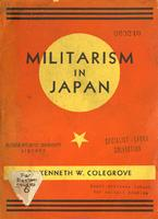 Militarism in Japan.