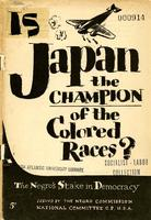 Is Japan the champion of the colored races The Negros stake in democracy.